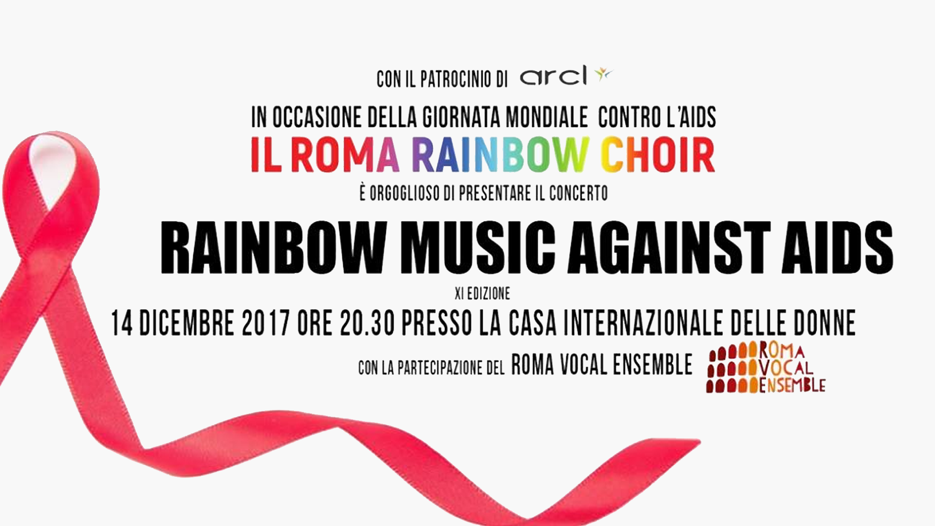 Rainbow Music Against AIDS XI° Edizione