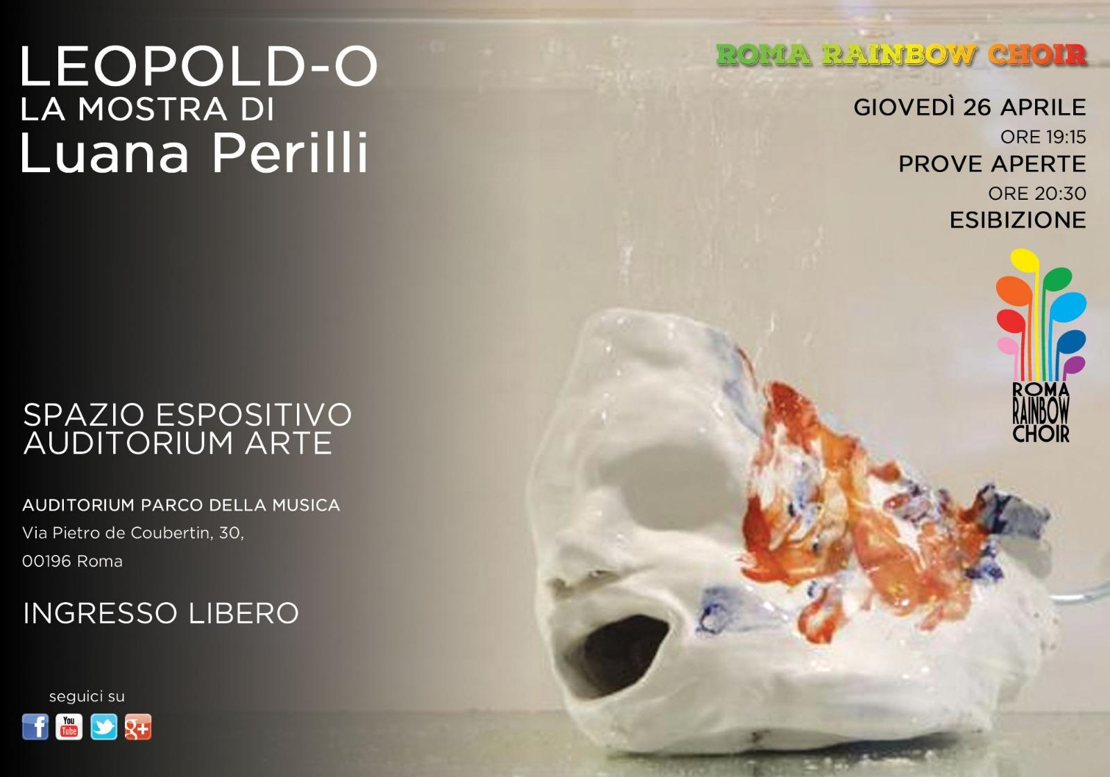 LEOPOLD-O - Prove aperte ed Esibizione in occasione della mostra di Luana Perilli