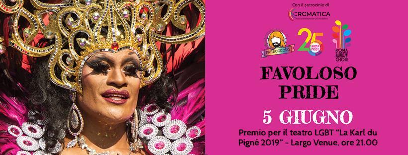 """Premio per il teatro LGBT """"La Karl du Pigné 2019"""""""
